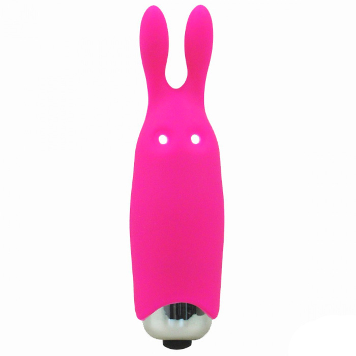 Міні-вібратор Adrien Lastic Pocket Vibe Rabbit Pink, Ø 2,3 см